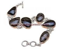 Antique Big Metal H1064 Bali Silver Jewelry Gold Gemstones Cheap 925 Sterling Bracelets & Bangles