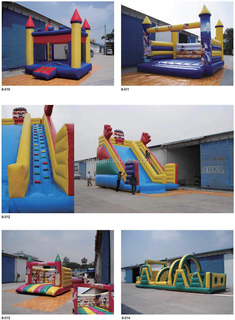 Guangzhou city inflatable bouncy slide with competitive cost
