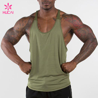 Wholesale Gym Stringer Mesh Back Dry Fit Y Back Tank Top For Men