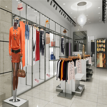 Fashion Cloth Shop Decoration Design Retail Garment Shop Interior Awesome Boutique Shop Design Decoration