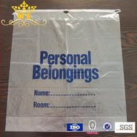 hotel plastic laundry bag