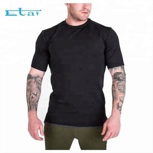 New Design Wholesale Cheap Overseas Slim Fit Dry Fit Sports T Shirt For Men