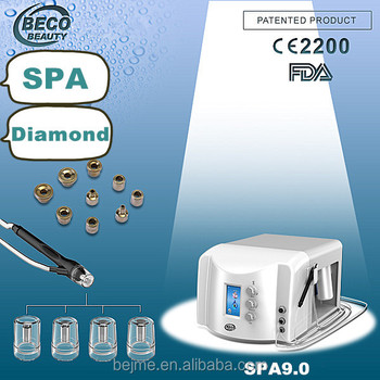 the new spa portable microdermabrasion machine