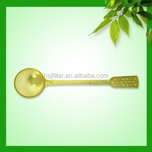 China gold manufacturer hot sell plastic small dessert spoon 9.6 cm