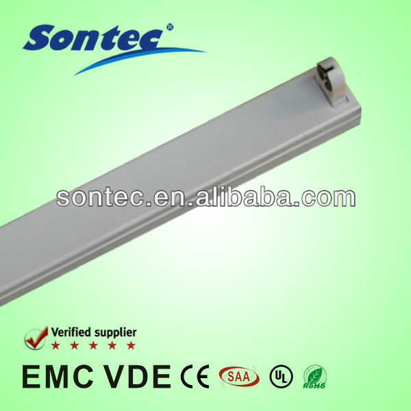 T8 electronic fluorescent light batten fixture