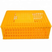 New design high quality circulating 2018 new plastic chicken poultry transport cage with great price whatsapp008615315898356