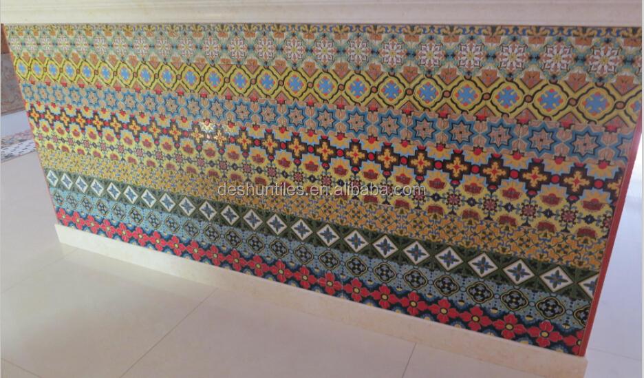 Miroccan Encaustic Cement Restaurant Kitchen Wall Tile Floor Tiles