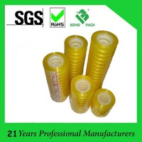 paper/plastic core tape, colored/yellowish/clear stationary tape