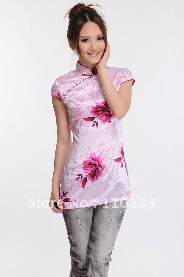 clothing for women cheongsam shirt t shirt chinese