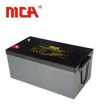 Deep cycle agm 12V 260AH solar panel battery