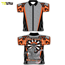 high quality sublimated polo shirt custom