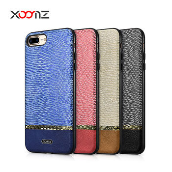Best Selling Cheaper Price  PU Leather Back Cover for iPhone 7 8