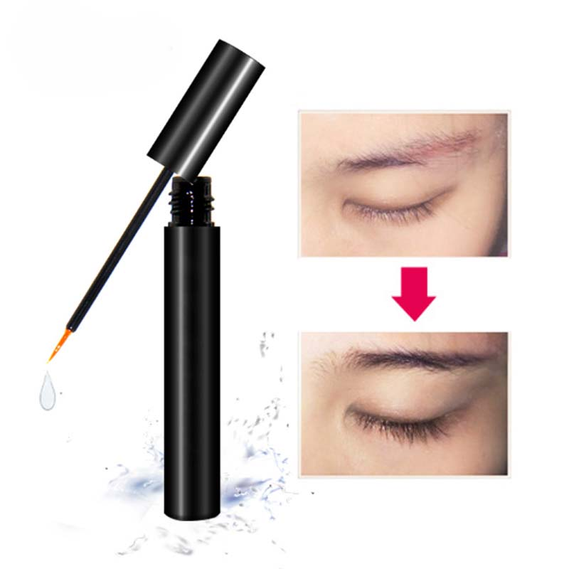 Private Label Wholesale Eye Lash Extensions Cosmetics Natural Liquid Eyelash Growth Serum Enhancer