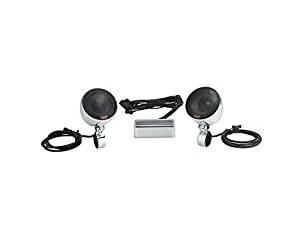 Victory Chrome Handlebar Speakers Kit