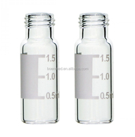 Manufacturer 2ml 9-425 clear screw thread hplc vial with write on spot Autosampler Vial