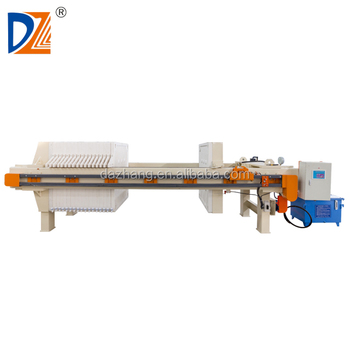 DaZhang High Quality 1250 Hydraulic Chamber Filter Press Price