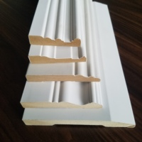 Laminated mdf board for white primed MDF skirting moulding trim moulding and crown moulding