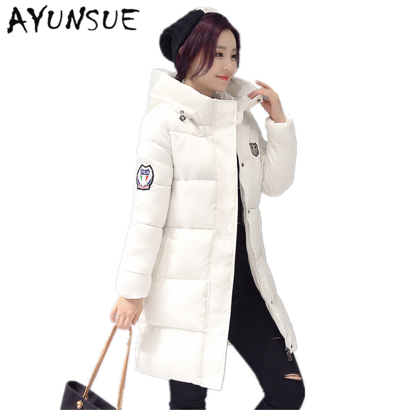 7fd9af3ac 2019 New Long Parkas Female Women Winter Coat Thickening Cotton ...