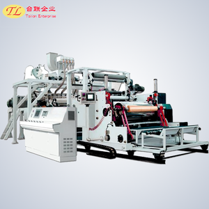 1200-1800mm PVC Cling Film Extrusion Line with Double Shaft Winder machine