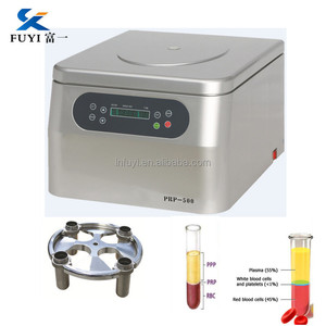 Portable laboratory tabletop bench prp centrifuge