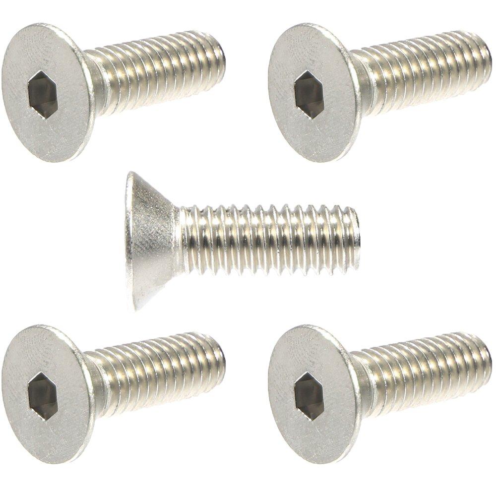 Fully Machine Thread Allen Hex Drive 10-24 x 1-1//2 Button Head Socket Cap Bolts Screws 50 PCS 304 Stainless Steel 18-8