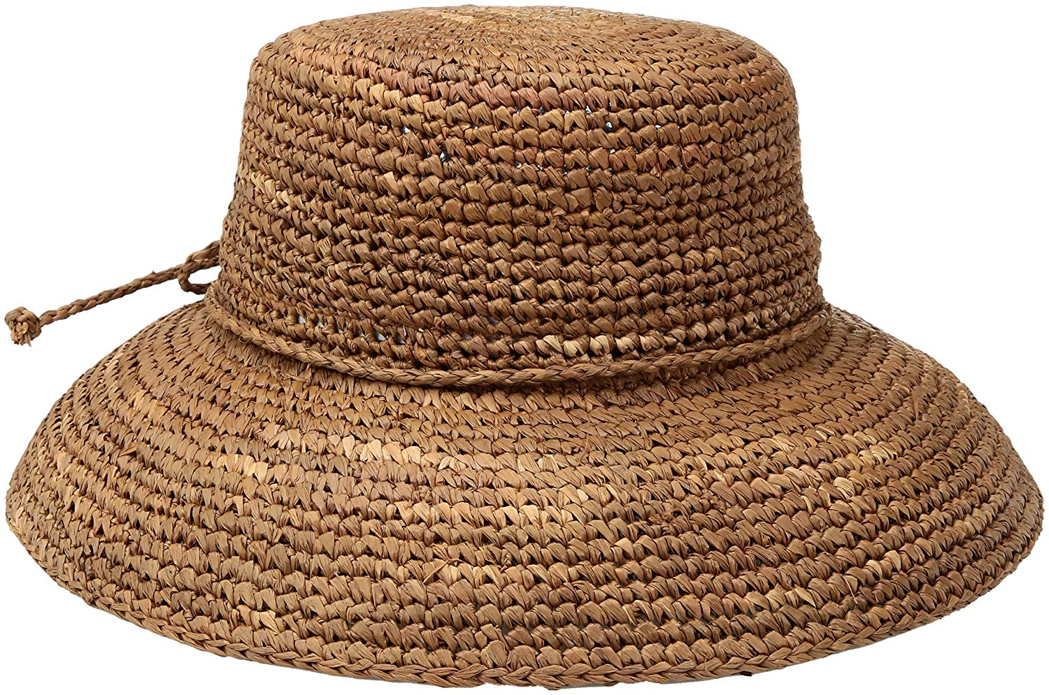 1d0acb6a9e058 Get Quotations · San Diego Hat Company Women s Crochet Raffia Hat