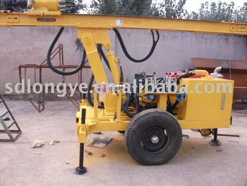 mobile water well drilling machine(CTQ-L100Y)