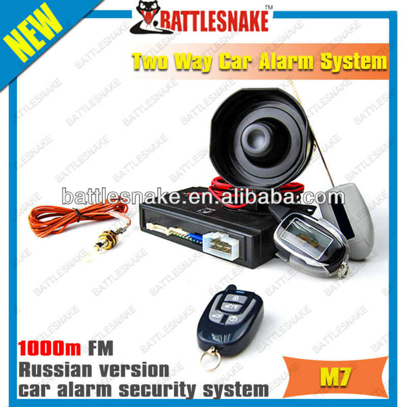 Manufactory Keyless Entry 2-way Car Alarm System Russian Version ...