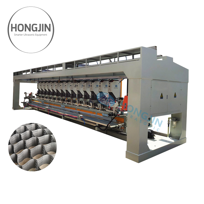 China Factory Automatic Honeycomb Geocell Production Line