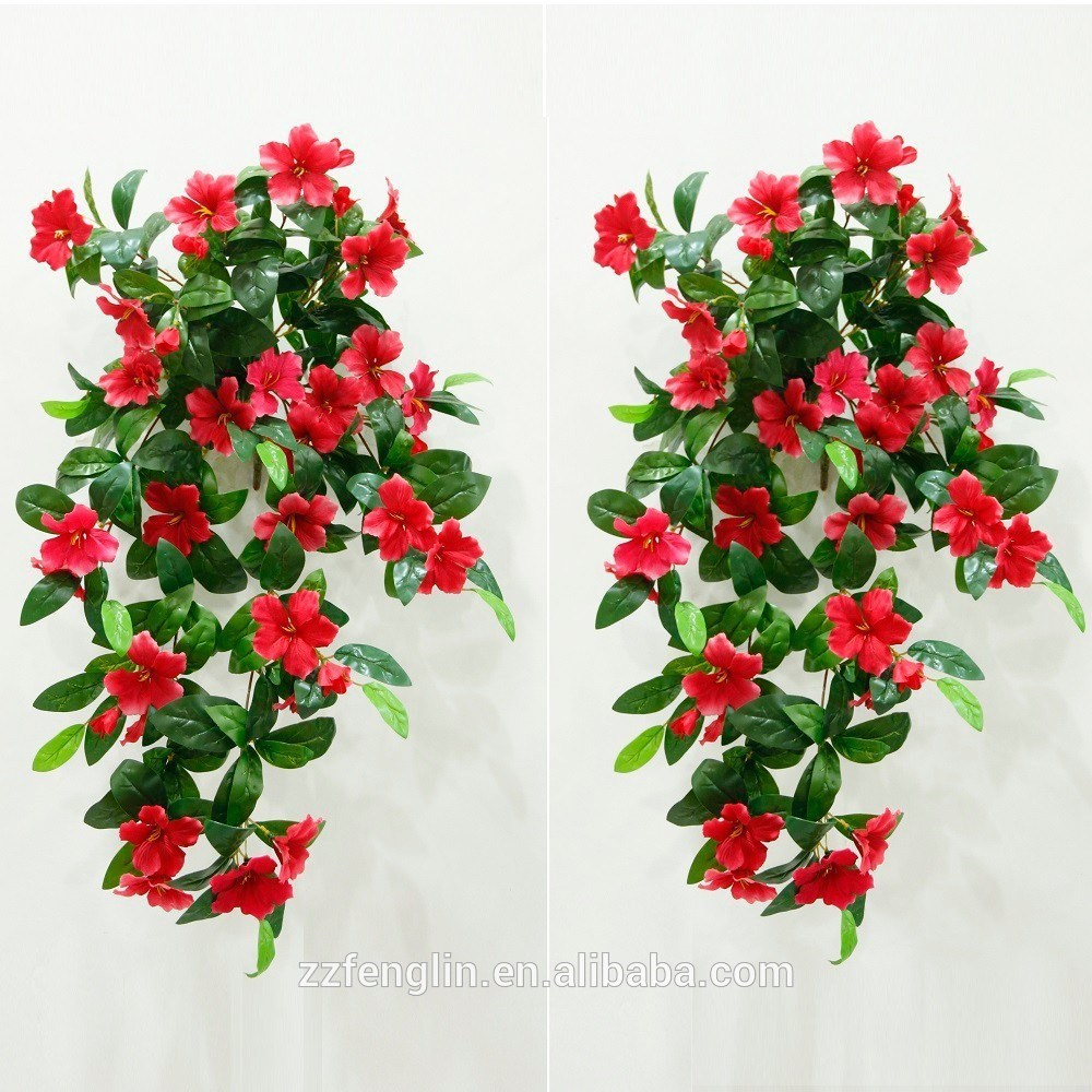Online Buy Artificial Flowers Garland Wall Decor Top Quality