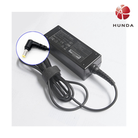 19V 2.1A universal laptop travel power adapter with 5.5*1.7mm DC connector input 100-240v ac 50/60hz