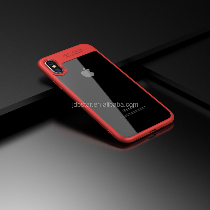 For iphone8 gel case, hair line carbon fiber case cover for iphone 8 tpu cover