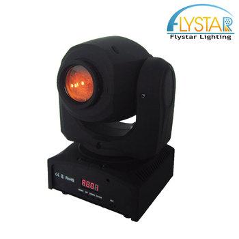 Professional Led Stage Light Dmx512 10w Mini Manual Moving Head Spot