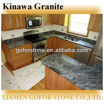 Kinawa Granite Kitchen Countertops Lowes - Buy Kitchen Countertops  Lowes,Lowes Granite Countertops Colors,Lowes Granite Countertops Colour For  Sale ...