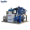 SamBo Used On Fishing Boat Marine Salt Water Flake Ice Machine 2 Tons With Bitzer Compressor