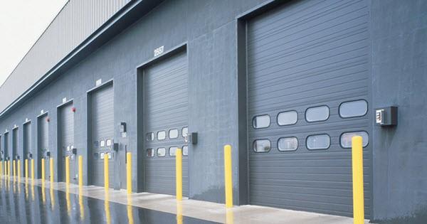 product-Zhongtai-Wholesale Color Steel Overhead Garage Door Industrial Lifting Doorfor Warehouse or -1