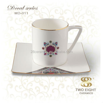Whole Cups And Saucers Espresso Commercial French Coffee