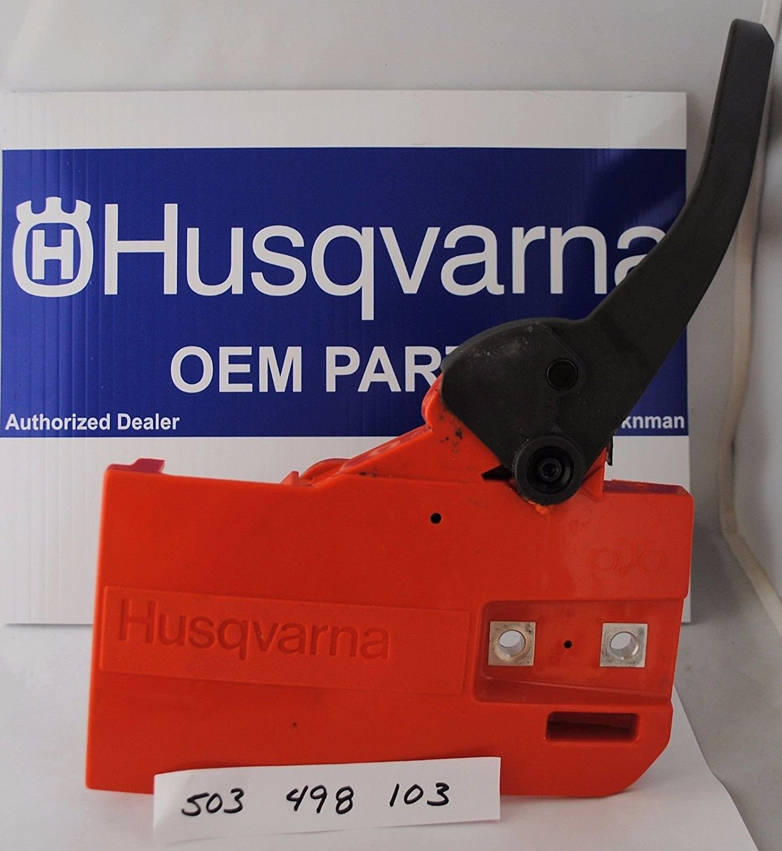 Husqvarna Oem Chainsaw Chainbrake Assembly Handle 503498103 50 51 55 Rancher