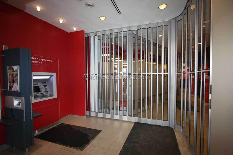 Commercial Exterior Accordion Folding Doors Aluminum Commercial Folding Door Cafe Folding Door