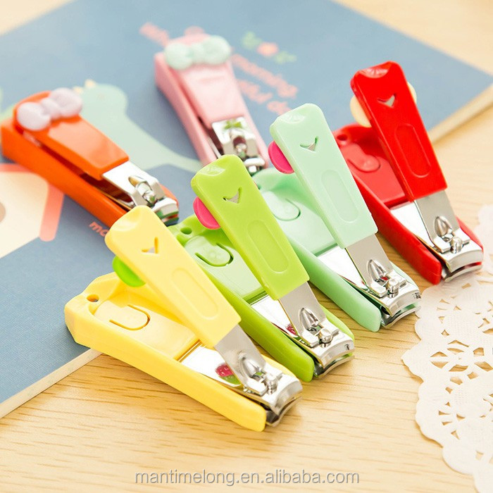 Butterfly Knot Long Handle Nail Clipper Cat Nail Clipper Plastic ...