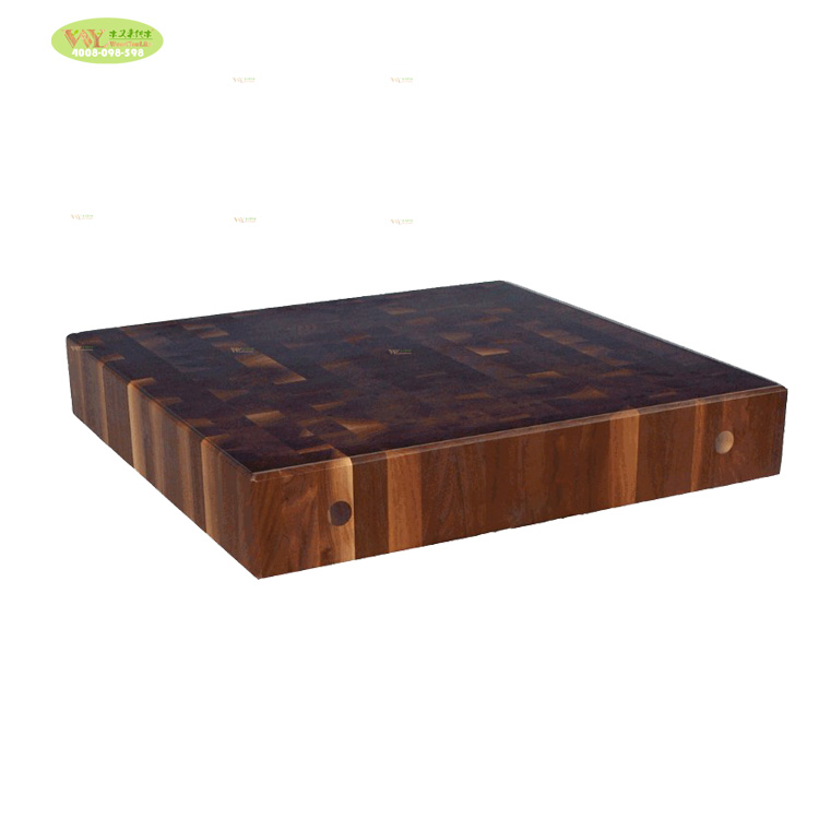 Lilin Minyak Kayu Solid Walnut Cutting Papan Walnut Akhir Butir Chopping Board