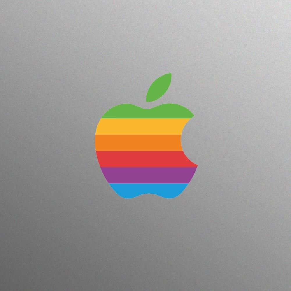 Buy Retro Apple Logo Decal Sticker For 13 15 17 Inch Apple
