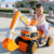 China manufacturer hot sale kids ride on car rc construction toy trucks excavator
