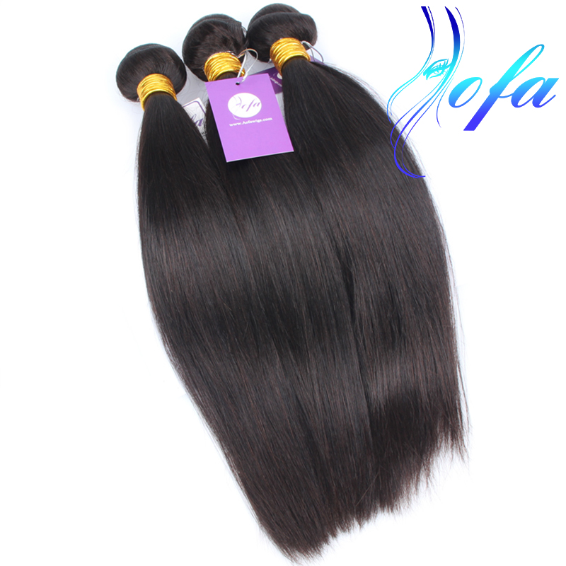 Quality <strong>thickness</strong> ends shedding free AAAAAAA grade 7a brazilian unprocessed virgin hair