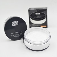 Menow Face Cosmetics F16010 White Color Loose Powder