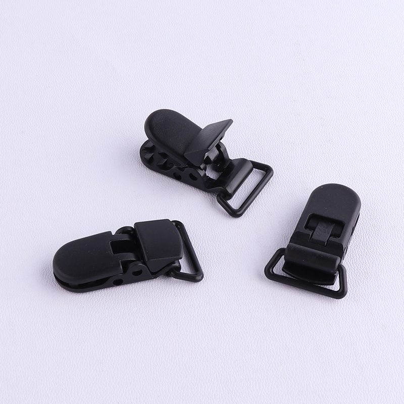 Metal Plastic Hook Pacifier Clip Suspender Clips 11mm 16mm 20mm 25mm