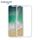 High quality screen protector 5D curved full cover film tempered glass for iphone 10 X