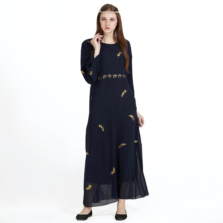 Flight Tracker Black Velour Long Sleeve Muslim Evening Dresses 2017 Hijab Islamic Dubai Abaya Kaftan Beaded A-line Evening Gowns Prom Dresses Weddings & Events