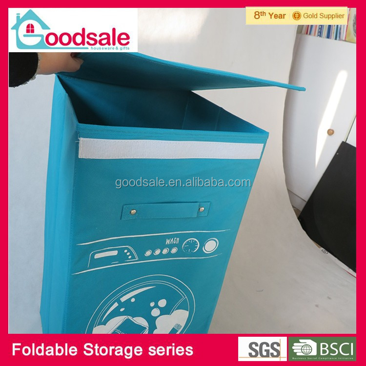 New Non Woven Fabric Folding Underwear Storage Box Bedroom: Home & Garden Collecting Kids Thong Underwear Collapsible