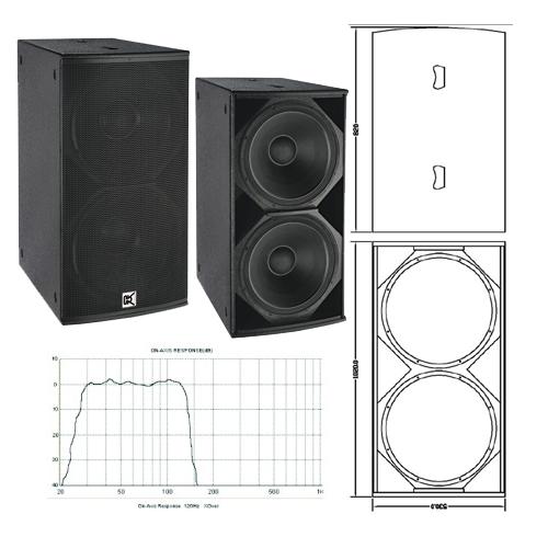 18 bass speaker box